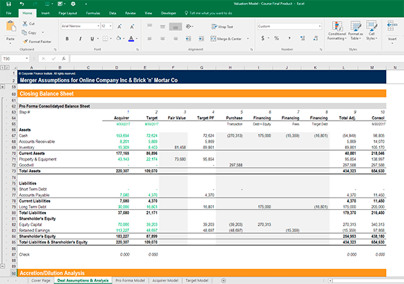 Financial Modeling Using Excel