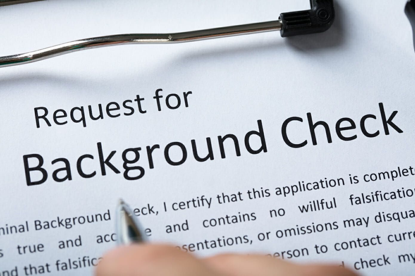 Background Check Application