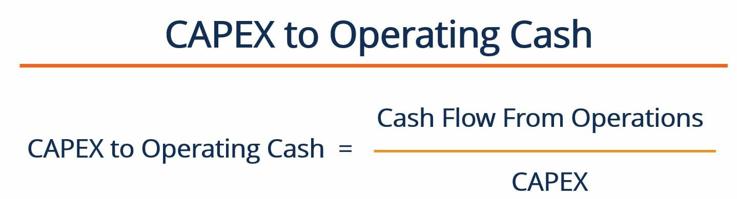 CAPEX to Operating Cash Ratio - Formula