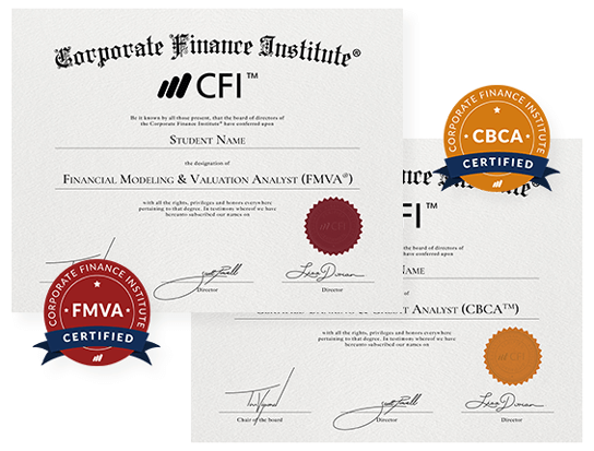 CFI Finance and Credit Certifications