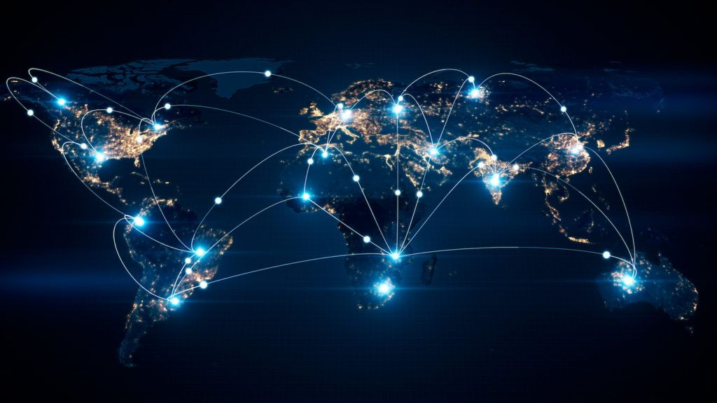 Cross Border Listing - Global Map Connected