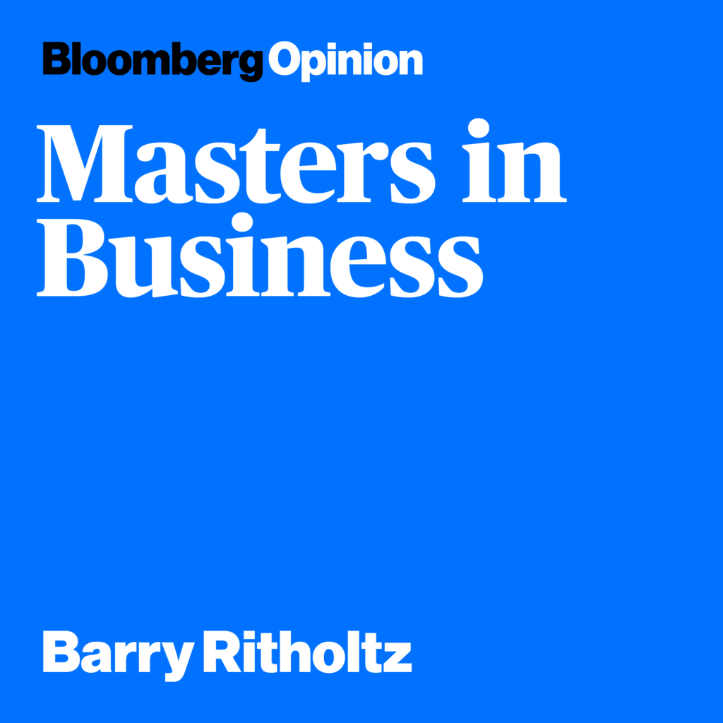 Finance Podcasts - Masters in Business Podcast Bloomberg