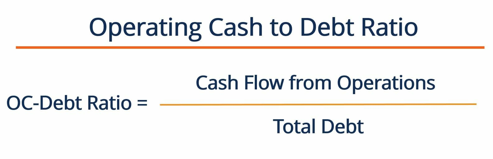 Operating Cash to Debt Ratio - Formula