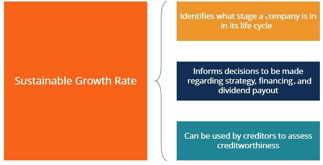 Sustainable Growth Rate Summary