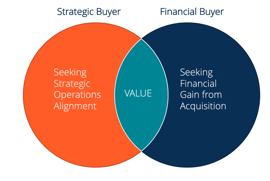Strategic vs Financial Buyer Venn Diagram