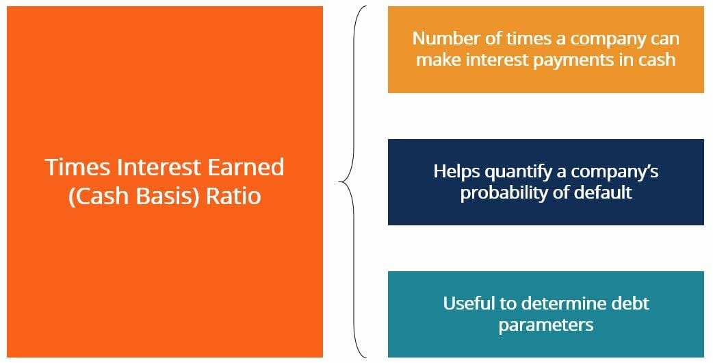 Times Interest Earned (Cash Basis) - Summary