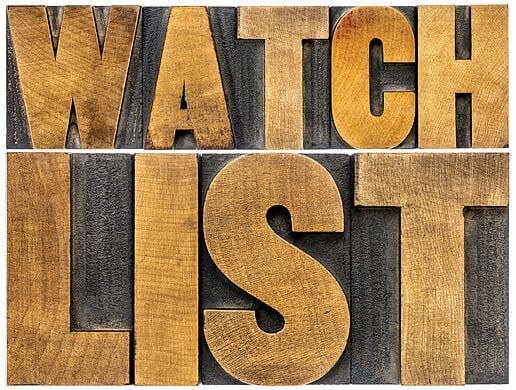 Trading Watch List and Insider Trading