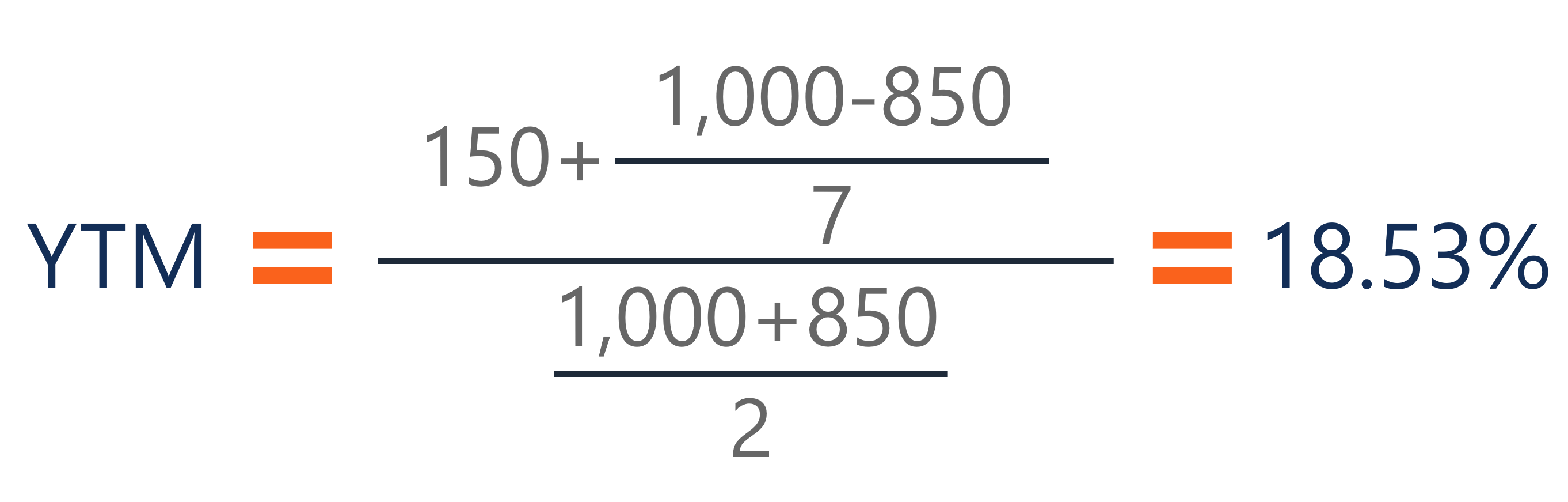 Yield to Maturity Example 1