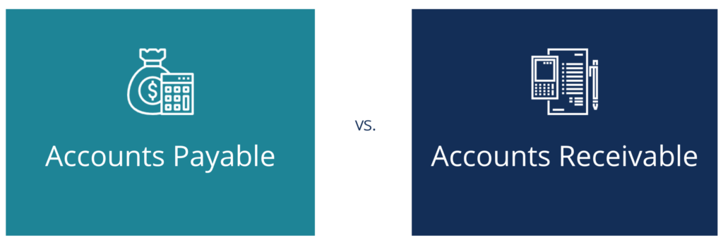 Accounts Payable vs Accounts Receivable Diagram