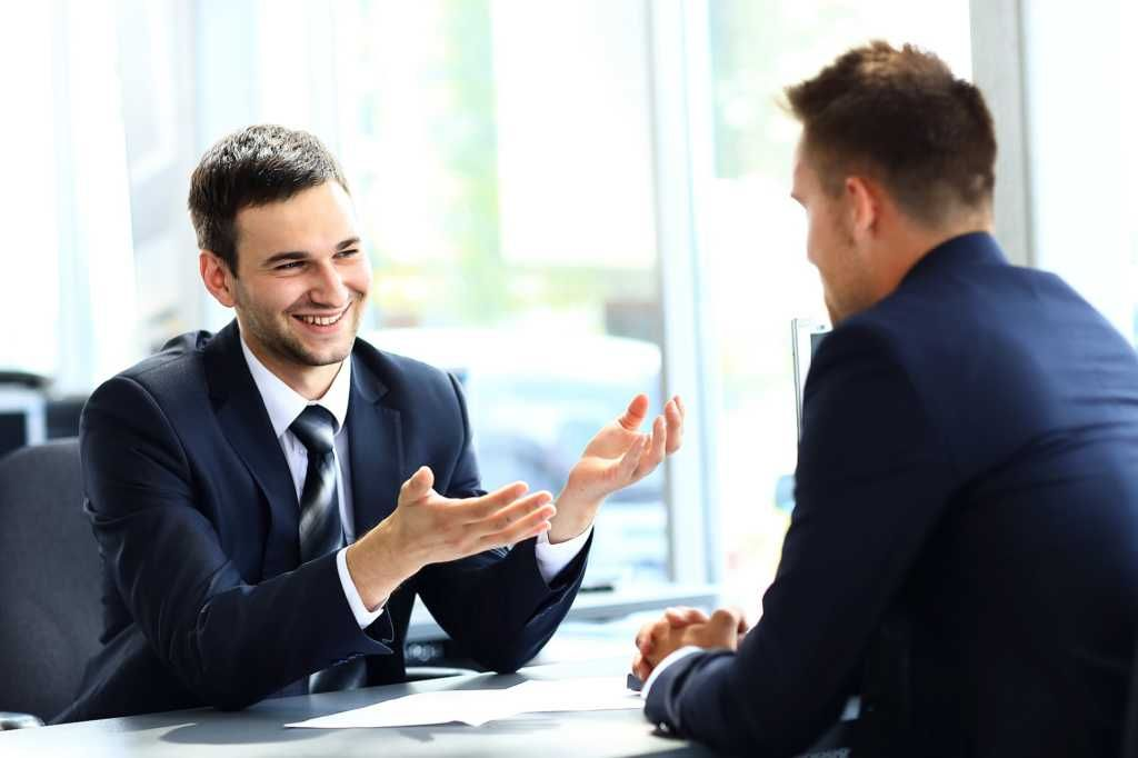 Financial Analyst in an interview