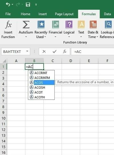 simple accounting format in excel