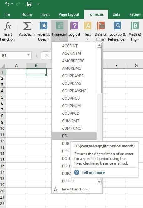 Basic excel formulas list of important formulas for beginners selecting a formula fandeluxe Image collections