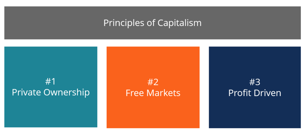 Capitalism - 3 Principles of Capitalism