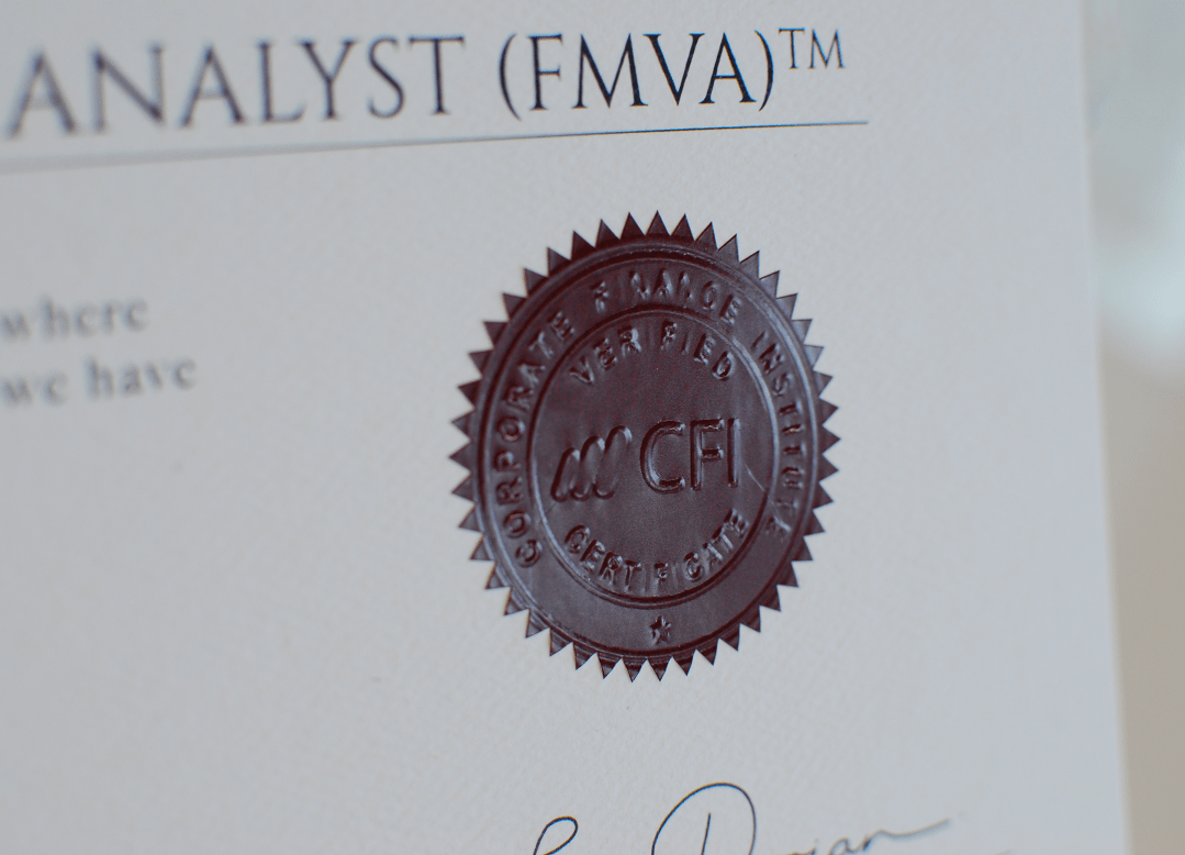 CFI Seal on the Certificate