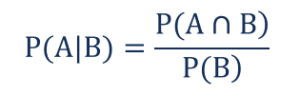 Conditional Probability - Formula