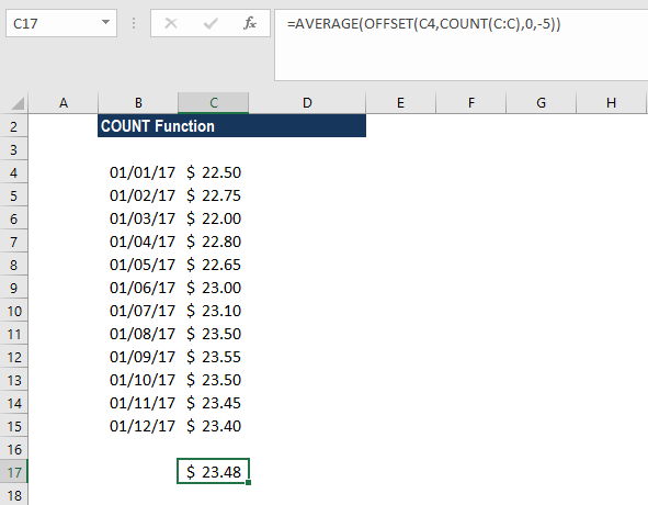 COUNT Function - Example 3b