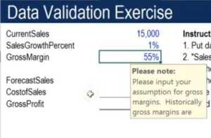 Data Validation - Example 4