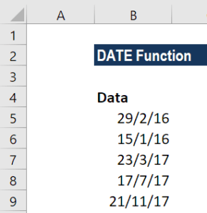 DATE Function