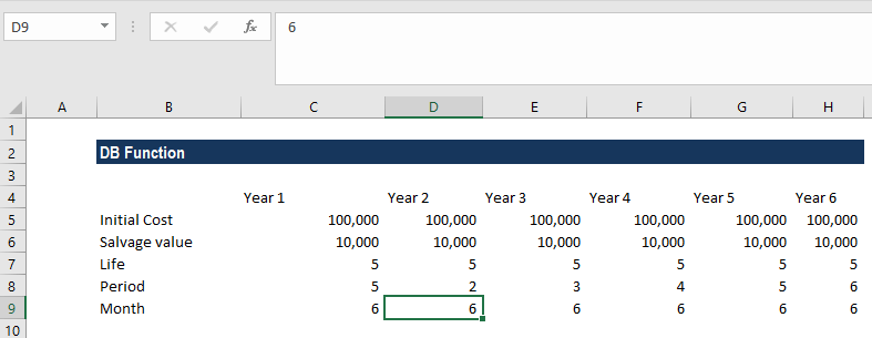 DB Function - Example 2
