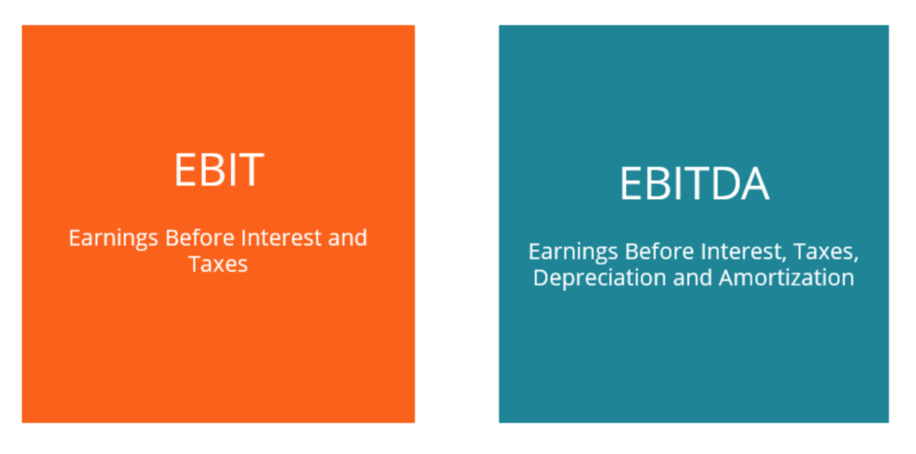 EBITDA vs EBIT Comparison