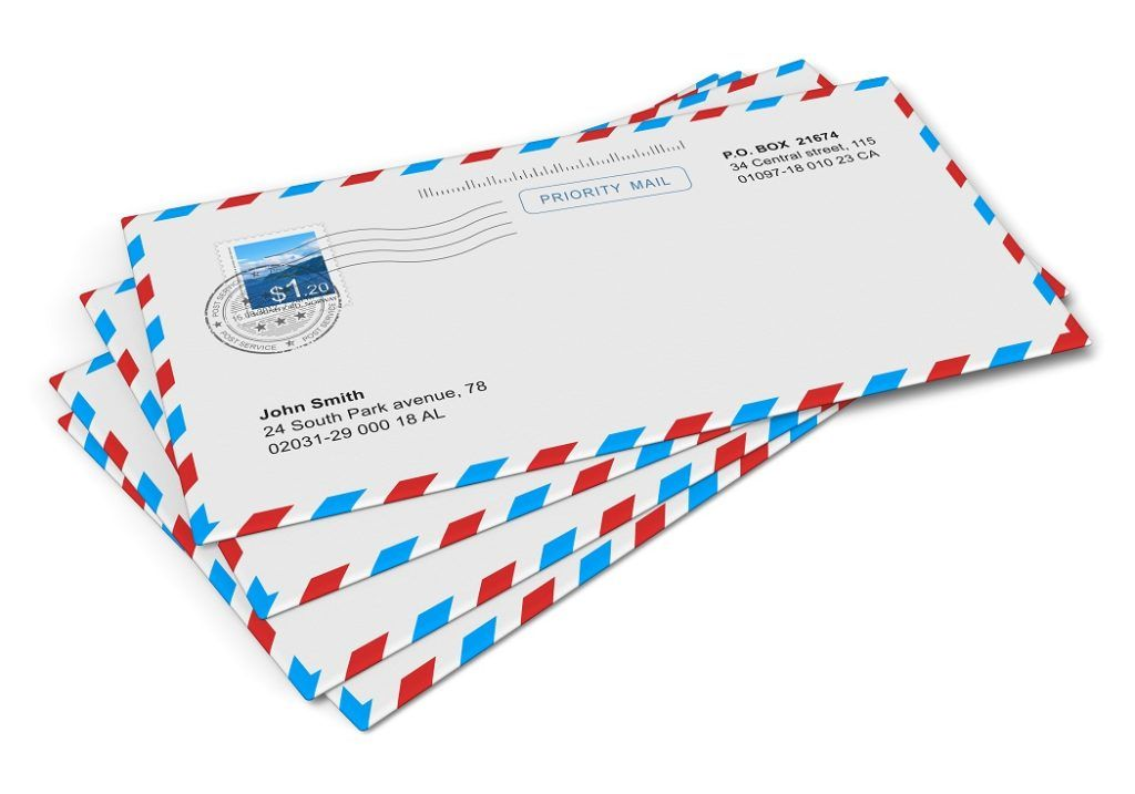Fill Out an Envelope by Country