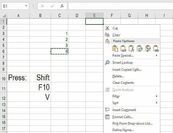 Excel Convert Formula To Value