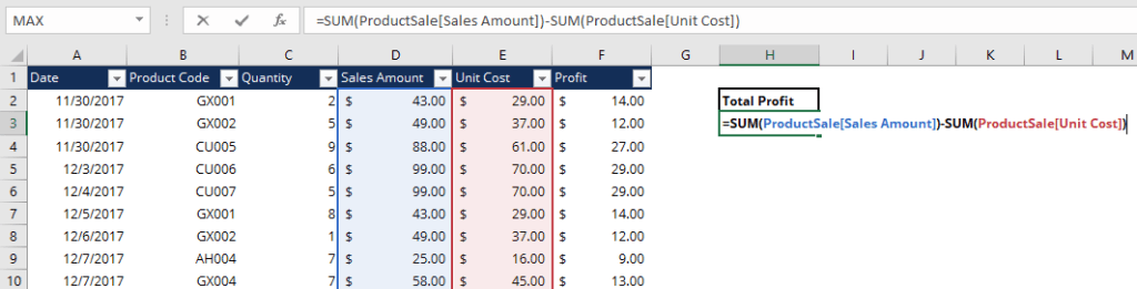 Excel Models Best Practices - Tip #5