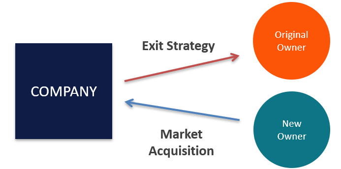 Business Exit Strategy Diagram