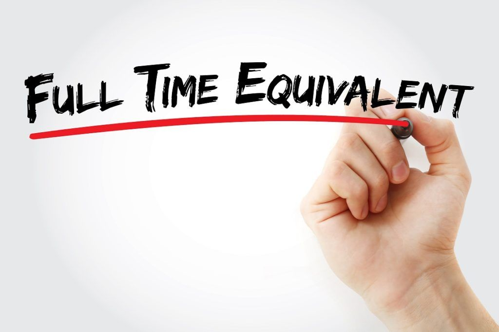Full Time Equivalent (FTE)