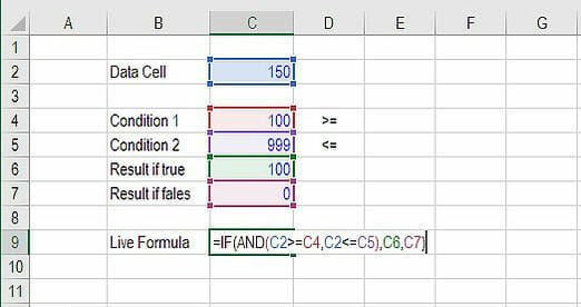 Advanced Excel Formulas - IF AND