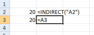 Excel Indirect Function - Lock Cell (1)