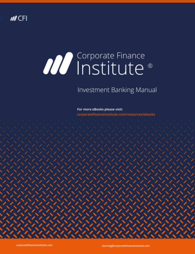 Investment Banking Book - Cover Page