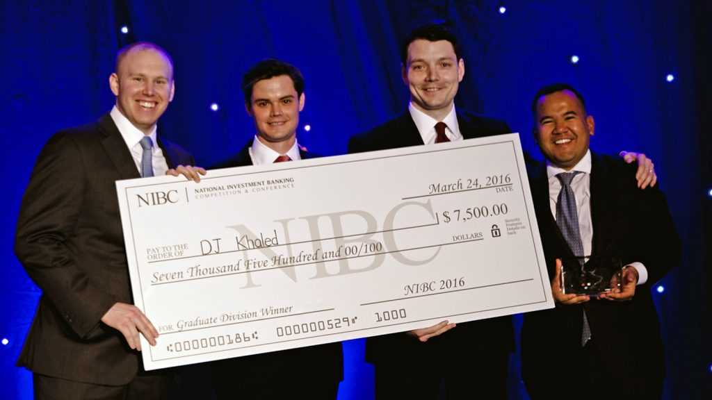 CFI sponsors NIBC Investment Banking Competition