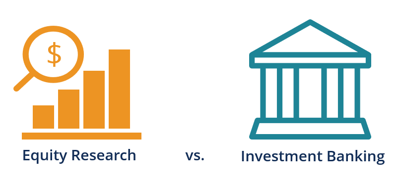Equity Research vs Investment Banking Diagram
