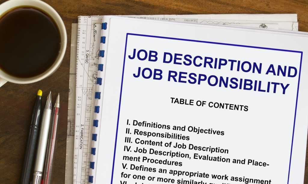browse job descriptions