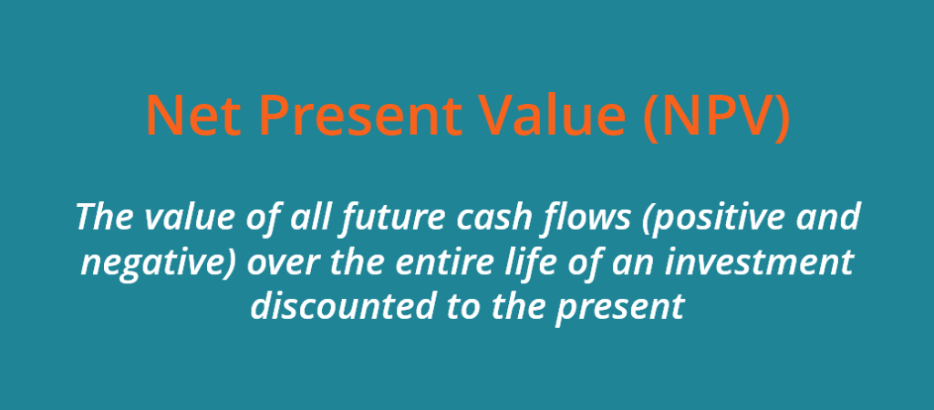 Net Present Value (NPV) definition