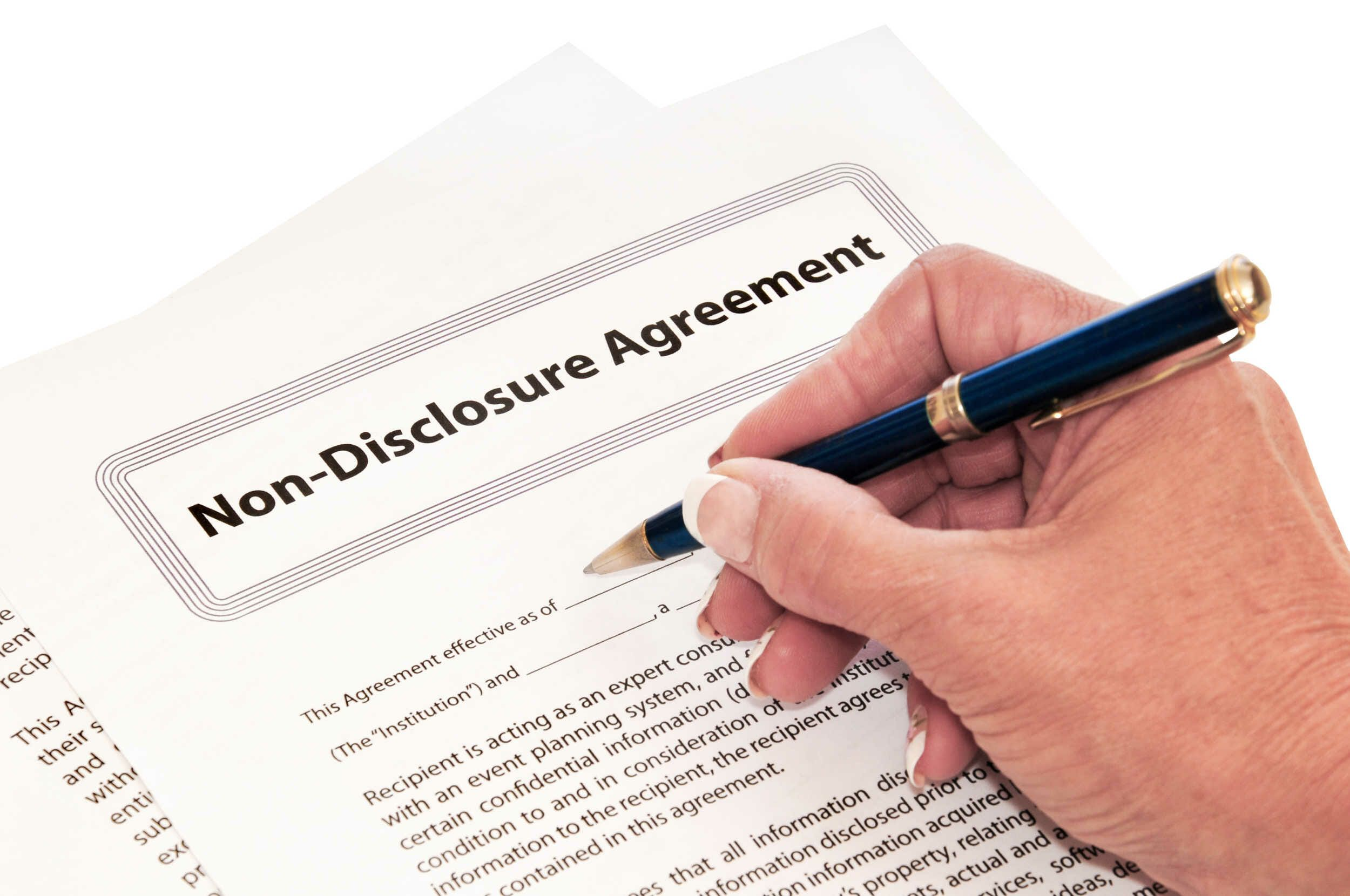 Non Disclosure Agreement (NDA)