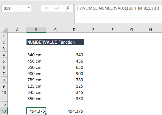 NUMBERVALUE Function - Example 2c