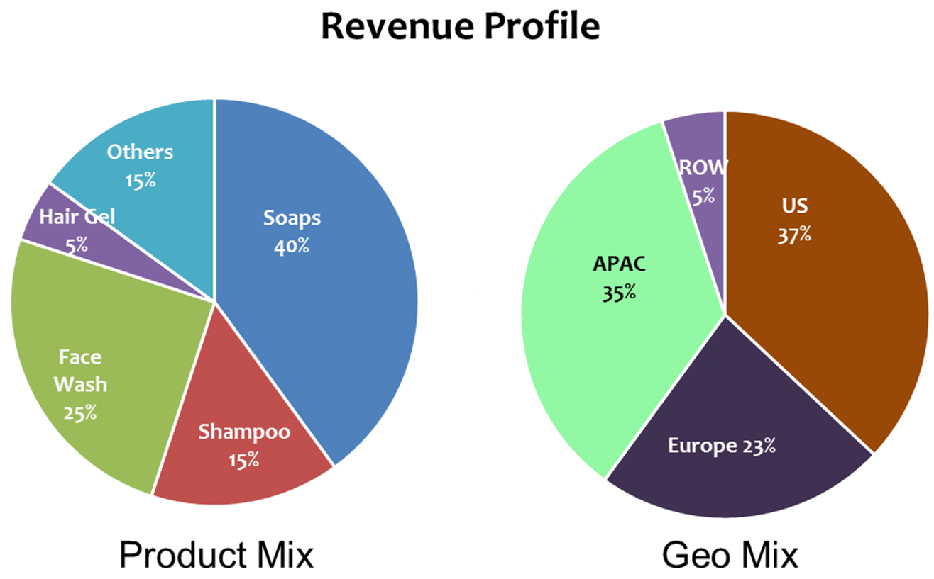 offering memorandum revenue breakdown