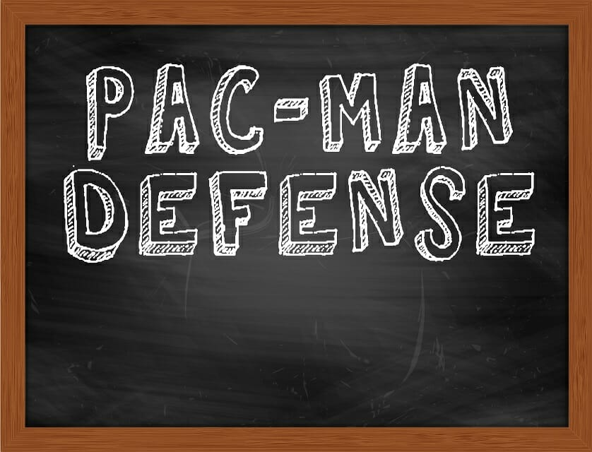 Pac Man Defense theme