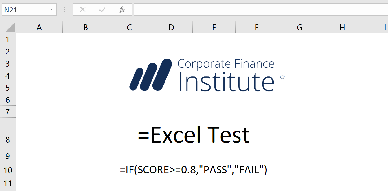 Financial Analyst Test