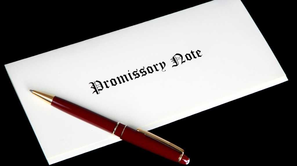 promissory note letter