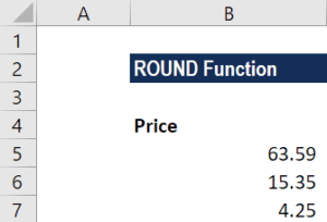 ROUND Function - Example 2