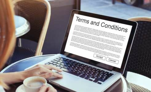 CFI terms and conditions of service