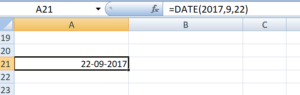 TEXT Function - DATE