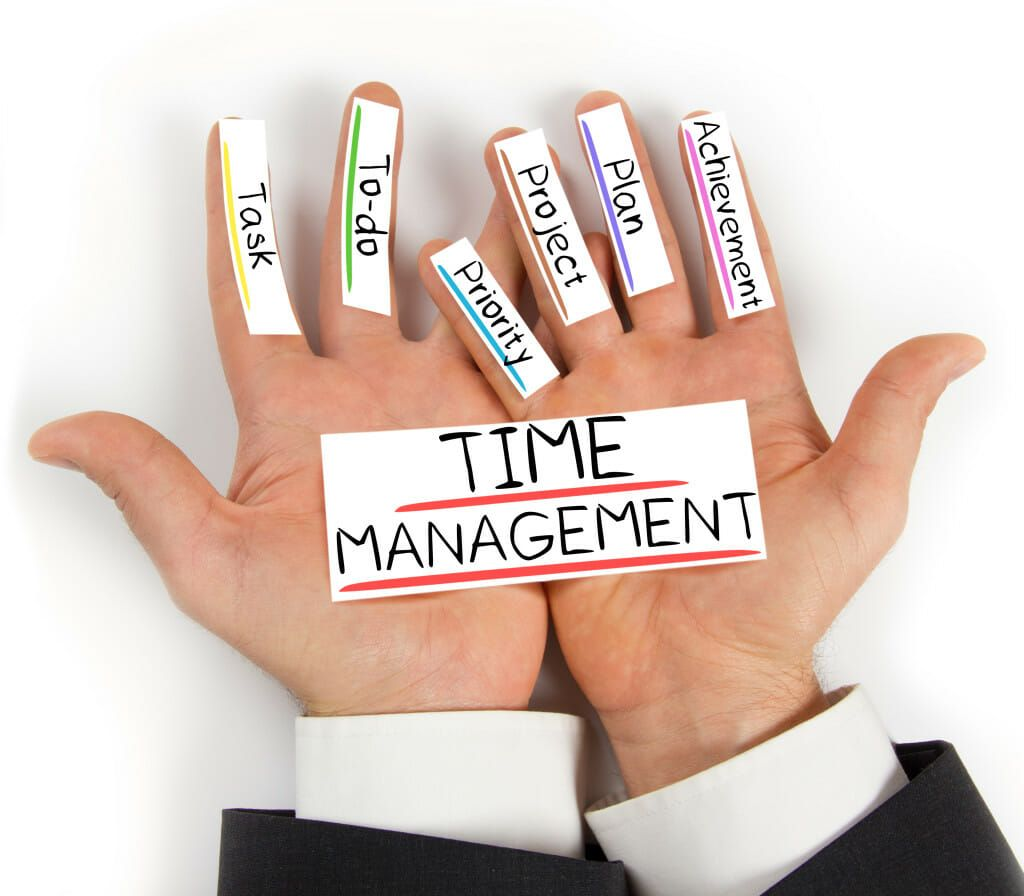 Time Management: List Of Top Tips For Managing Time