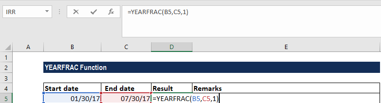 Yearfrac Function Return Number Of Days Between Two Dates. Yearfrac Function Exle 1a. Worksheet. Worksheetfunction Yearfrac At Clickcart.co